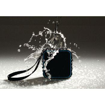 AVSP5000-07 Bluetooth-speaker 2.0 explorer 3 w ingebouwde microfoon zwart/blauw Product foto