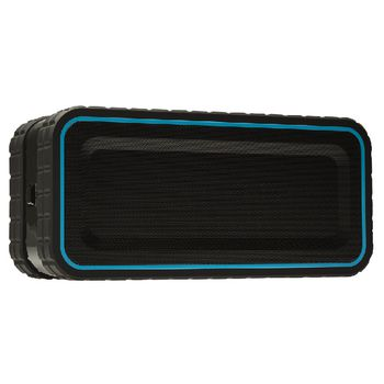 AVSP5200-07 Bluetooth-speaker 2.0 explorer 12 w ingebouwde microfoon zwart/blauw