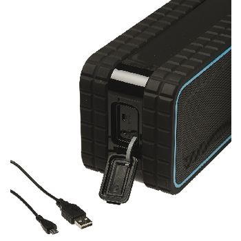 AVSP5200-07 Bluetooth-speaker 2.0 explorer 12 w ingebouwde microfoon zwart/blauw Product foto