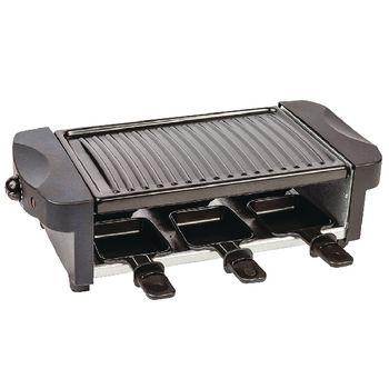 AZ-FC30 Raclette-grill 6 personen 1000 w zwart Product foto