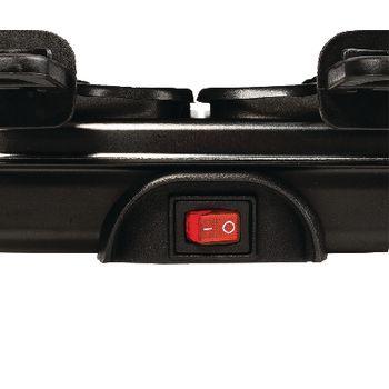 AZ-FC30 Raclette-grill 6 personen 1000 w zwart In gebruik foto