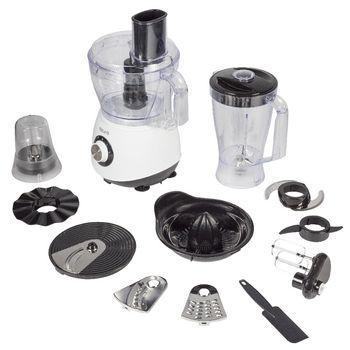 AZ-FP10 Keukenmachine 800 w 2.0 l Inhoud verpakking foto