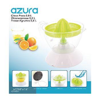 AZ-JUICE10 Citruspers 40 w 0.8 l wit/groen Verpakking foto