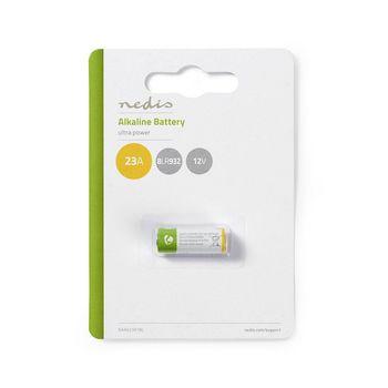 BAAK23A1BL Alkaline batterij 23a   12 v   1 stuks   blister Verpakking foto