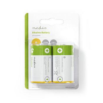 BAAKLR202BL Alkaline-batterij d | 1.50 v | alkaline | d / mn1300 / mx1300 / 13a / 12000 | aantal batterijen: 2 p