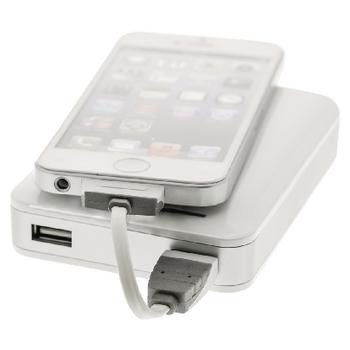 BBM39100W01 Data en oplaadkabel apple dock 30-pins - usb a male 0.10 m wit In gebruik foto