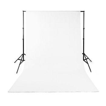 BDRP33WT Achtergronddoek voor fotostudio | 2,95 x 2,95 m | wit Product foto