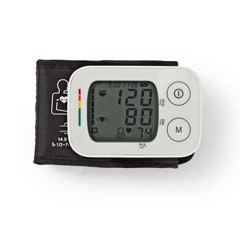 BLPR100WT Polsbloeddrukmeter | lcd | tijd/datum | 4x 30 geheugenopslag In gebruik foto