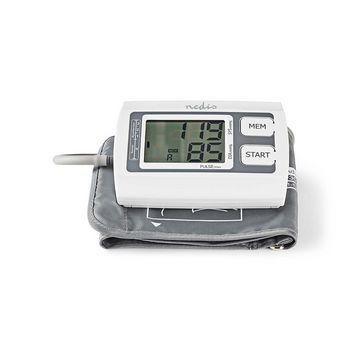 BLPR110WT Bloeddrukmeter voor bovenarm | lcd groot | 2x 60 geheugenopslag