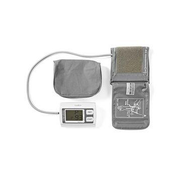 BLPR110WT Bloeddrukmeter voor bovenarm | lcd groot | 2x 60 geheugenopslag Inhoud verpakking foto