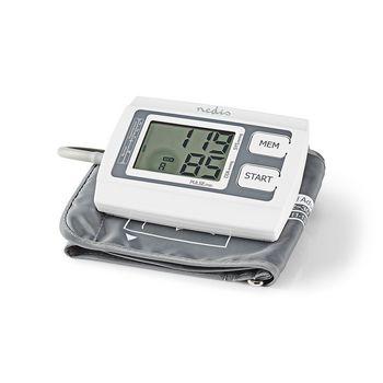 BLPR110WT Bloeddrukmeter voor bovenarm   lcd groot   2x 60 geheugenopslag Product foto
