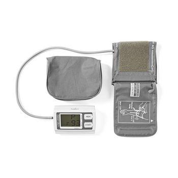 BLPR110WT Bloeddrukmeter voor bovenarm   lcd groot   2x 60 geheugenopslag Inhoud verpakking foto