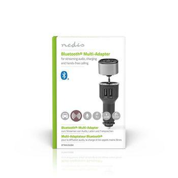 BTMA200BK Bluetooth® multi-adapter | output: 1x 3,5 mm | sbc | tot 7 uur | ingebouwde microfoon | volumeb  foto