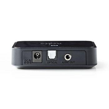BTRC110BK Bluetooth®-ontvanger | output: 1x 3,5 mm / 1x optisch s/pdif | aptx™ / sbc | zwart Product foto