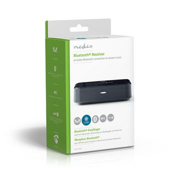 BTRC110BK Bluetooth®-ontvanger | output: 1x 3,5 mm / 1x optisch s/pdif | aptx™ / sbc | zwart Verpakking foto