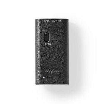 BTTR100BK Draadloze audiozender | bluetooth® | maximaal 2 hoofdtelefoons | zwart In gebruik foto