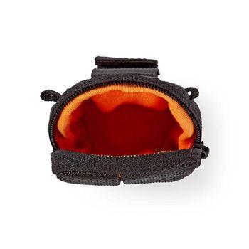 CBAG100BK Cameratas | 100 x 60 x 30 mm | 1 binnenvak | zwart/oranje Product foto