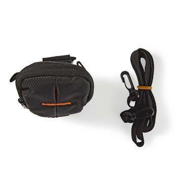 CBAG100BK Cameratas | 100 x 60 x 30 mm | 1 binnenvak | zwart/oranje Inhoud verpakking foto