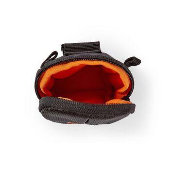 CBAG110BK Cameratas | 120 x 70 x 35 mm | 1 binnenvak | zwart/oranje Product foto
