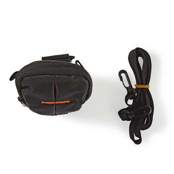 CBAG110BK Cameratas | 120 x 70 x 35 mm | 1 binnenvak | zwart/oranje Inhoud verpakking foto
