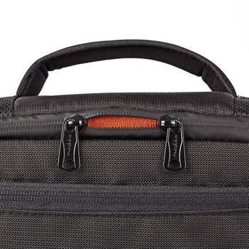 CBAG220BK Camera-schoudertas | 250 x 210 x 170 mm | 3 binnenvakken | zwart/oranje Product foto