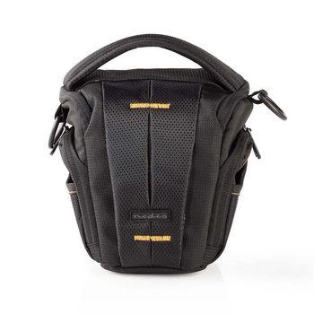 CBAG300BK Cameratas holster   160 - 185 x 145 x 140 mm   1 binnenvak   zwart/oranje