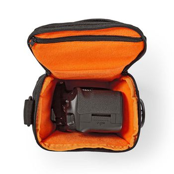 CBAG300BK Cameratas | holster | waterafstotend | 140 mm | 185 mm | 145 mm | totaal aantal compartimenten: 3 |  Product foto