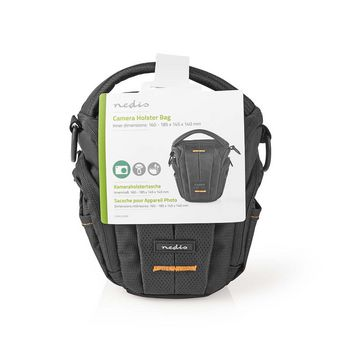 CBAG300BK Cameratas | holster | waterafstotend | 140 mm | 185 mm | 145 mm | totaal aantal compartimenten: 3 |  Verpakking foto