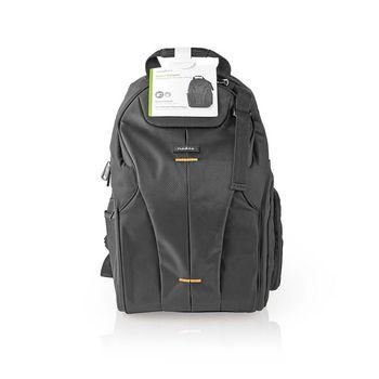 CBAG400BK Cameratas rugtas | 290 x 410 x 150 mm | 10 binnenvakken | zwart/oranje Verpakking foto
