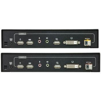 CE680-AT-G Dvi / usb / audio optisch verlenger 600 m Product foto