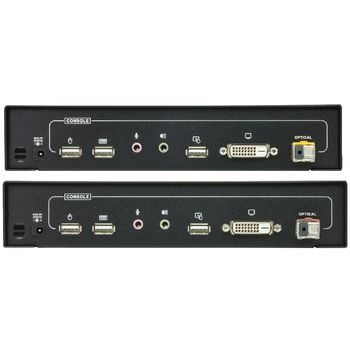CE690-AT-G Dvi / usb / audio optisch extender 20 km Product foto