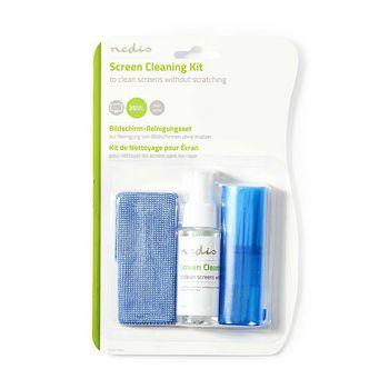 CLSN110BU Schermreiniger | spray | 35 ml | notebook / smartphone / tablet / tv-scherm | wisser inbegrepen Product foto