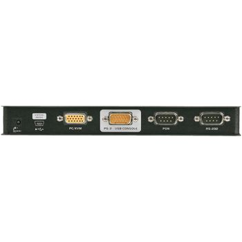 CN8000-AT-G 1-poorts kvm schakelaar zwart Product foto