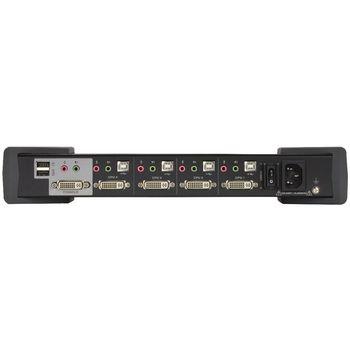 CS1184-AT-G 4-poorts kvm switch zwart Product foto