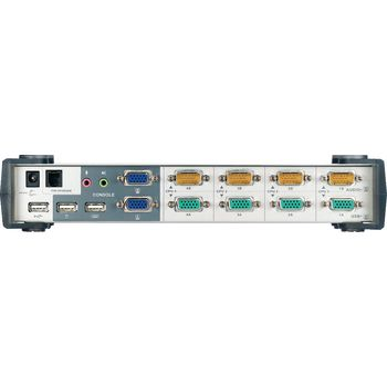 CS1744C-AT 4-poorts kvm switch zilver Product foto