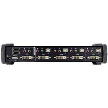 CS1764A-AT-G 4-poorts kvm switch zwart Product foto