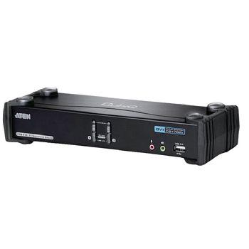 CS1782A-AT-G 2-poorts kvm switch zwart