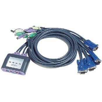 CS64AZ-AA 4-poorts kvm switch zwart