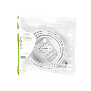 CSGP4500WT30 Coax- / cat6-combinatiekabel | met connectoren | 3,0 m Verpakking foto