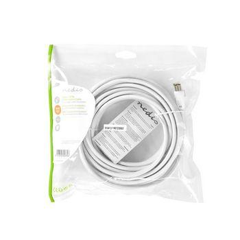 CSGP4500WT50 Coax- / cat6-combinatiekabel | met connectoren | 5,0 m Verpakking foto