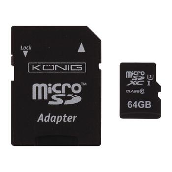 CSMSDXC64GB Microsdxc geheugenkaart klasse uhs-i 64 gb