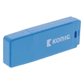 CSU2FD16GB Usb stick usb 2.0 16 gb blauw In gebruik foto