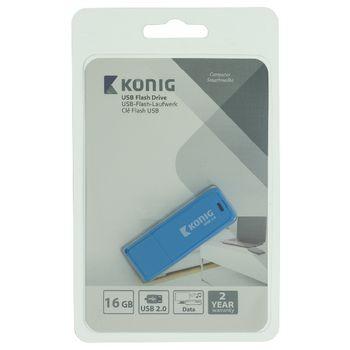 CSU2FD16GB Usb stick usb 2.0 16 gb blauw Verpakking foto