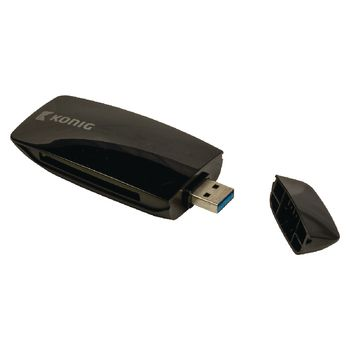 CSU3TCR100BL Kaartlezer alles-in-1 usb 3.0 zwart Product foto