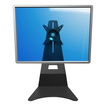 DF-52503 Addit monitor beugel vast 15 kg In gebruik foto