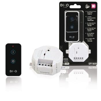DIO-DOMO34 Smart home gemotoriseerde rolluikenset 433 mhz Verpakking foto