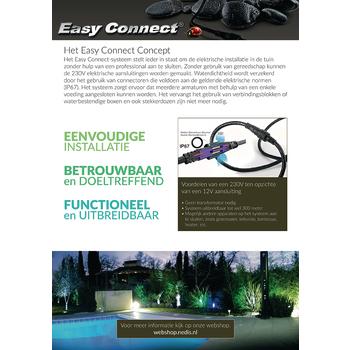 EC65370 Led tuinlamp met spies 10 w 3000 k Product foto