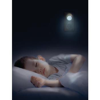 EL-NIGHT4 Led nachtlamp 1 w dag/nacht In gebruik foto