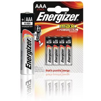 EN-53541022800 Alkaline batterij aaa 1.5 v max 8-blister Verpakking foto
