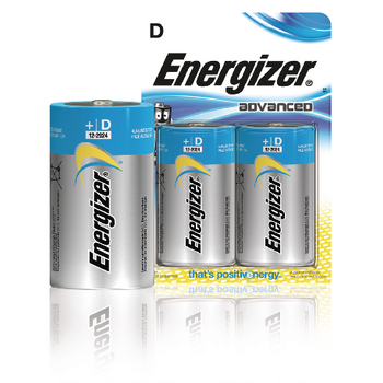EN-53541042600 Alkaline batterij d 1.5 v advanced 2-blister